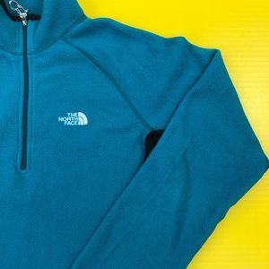 Women's The North Face Teal Light Weight Fleece M